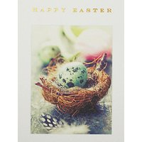 Susan O'hanlon Basket With Eggs Easter Greeting Card
