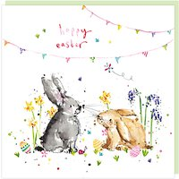 Louise Mulgrew Bunnies Easter Greeting Card