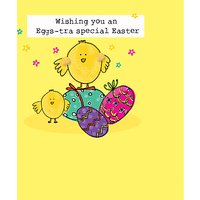 Saffron Cards And Gifts Chicks And Eggs Easter Greeting Card