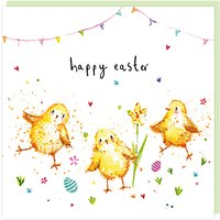 Louise Mulgrew Chicks Happy Easter Greeting Card