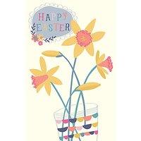 Art File Daffodil Easter Greeting Card