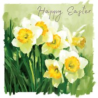 Ling Daffodils Easter Greeting Card