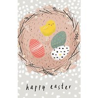 Art File Easter Chick Greeting Card