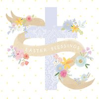 Cardmix Easter Cross Greeting Card