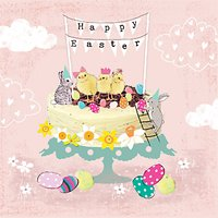 Hammond Gower Easter Cake Greeting Card