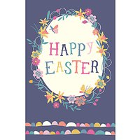 Art File Easter Egg Greeting Card
