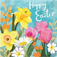 Hammond Gower Easter Floral Greeting Card