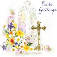 Ling Easter Prayer Greeting Card