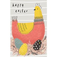Art File Easter Hen Greeting Card