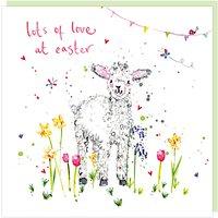 Louise Mulgrew Easter Lamb Greeting Card