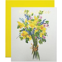 Susan O'hanlon Floral Bouquet Easter Greeting Card