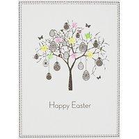 Five Dollar Shake Eggs On Tree Easter Greeting Card