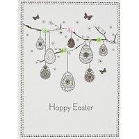 Five Dollar Shake Eggs On Branch Easter Greeting Card