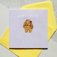 Belly Button Designs Happy Easter Bunny Greeting Card