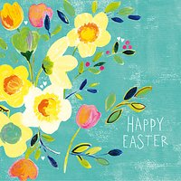 Paper Salad Happy Easter Greeting Card
