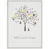 Five Dollar Shake Happy Easter Tree Greeting Card