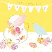 Cardmix Happy Birds Easter Greeting Card