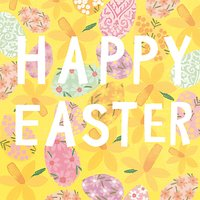 Cardmix Happy Easter Greeting Card