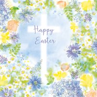 Saffron Cards And Gifts Frame With Cross Easter Greeting Card