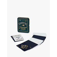 Gentlemen's Hardware Survival Playing Cards