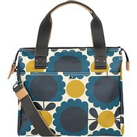 Orla Kiely Scallop Flowers Zip Messenger Bag