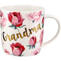 Cath Kidston 'Grandma' Floral Mug, Multi, 350ml