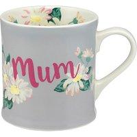 Cath Kidston Daisies & Buttercups Mum Gift Boxed Mug, Multi, 350ml