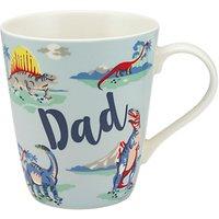 Cath Kidston 'Dad' Dinosaurs Mug, Multi, 400ml