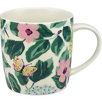 Cath Kidston Mornington Leaves Audrey Mug, Multi, 350ml