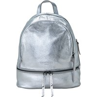 Liebeskind Berlin Lotta F8 Leather Backpack, Silver