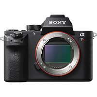 Sony Alpha 7 R II Compact System Camera, 4K Ultra HD, 42.4MP, Wi-Fi, NFC, OLED EVF, 5-Axis Image Stabiliser & Tiltable 3 LCD Screen, Body Only, Black