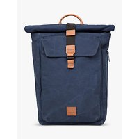 "Knomo Novello 15"" Roll-Top Laptop Backpack, Blue"