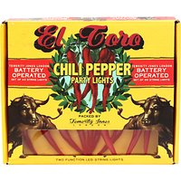 Chili Pepper Party Lights, Set of 20