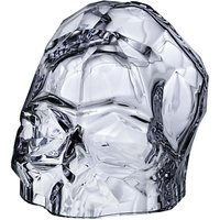 Nude Glass Memento Mori Skull, Clear