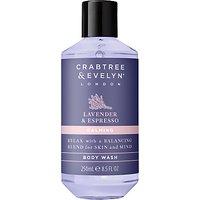 Crabtree & Evelyn Lavender & Espresso Calming Body Wash, 250ml