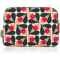 Orla Kiely Fuschia Sycamore Seed Cosmetic Bag, Pink