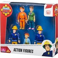 Fireman Sam Action Figures, Pack of 5