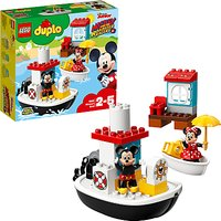 Image of LEGO DUPLO 10881 Mickey's Boat