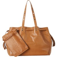 Gerard Darel Simple 2 Bis Leather Tote Bag, Camel