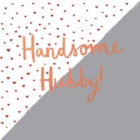 Hotchpotch Handsome Hubby Valentine's Day Card