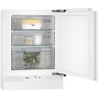 AEG ABE68216NF Undercounter Freezer, A+ Energy Rating, 60cm Wide, White