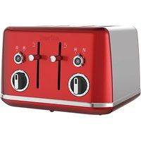 Buy Breville Lustra 4-Slot Toaster - John Lewis