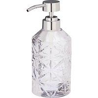 John Lewis & Partners Isabella Glass Soap Pump