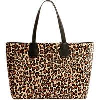 Karen Millen Leopard Print Tote Bag, Multi