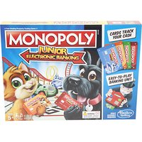 Monopoly Junior Electronic Banking Board Game