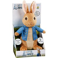 Peter Rabbit 31cm Talking Peter Rabbit Soft Toy