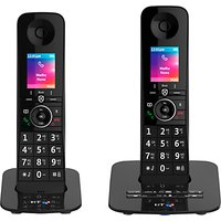 BT Premium Phone Digital Cordless Phone with 100% Nuisance Call Blocking, Answering Machine & Mobile Sync, Twin DECT