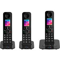 BT Premium Phone Digital Cordless Phone with 100% Nuisance Call Blocking, Answering Machine & Mobile Sync, Trio DECT