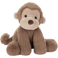 Jellycat Smudge Monkey Soft Toy, One Size, Brown