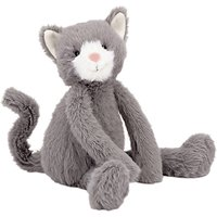 Jellycat Sweetie Kitten Soft Toy, One Size, Grey